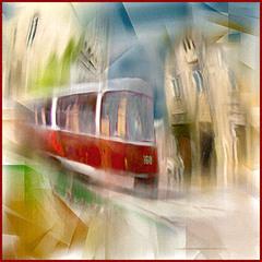 Городской трамвай