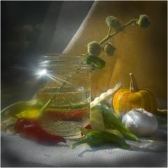 Овощной этюд