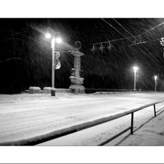 прА снег...