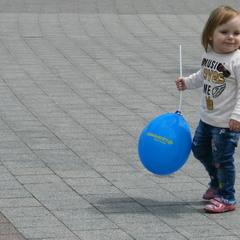 Про голубой шарик