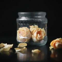 Лепестки увядших роз сохраню себе на память...
