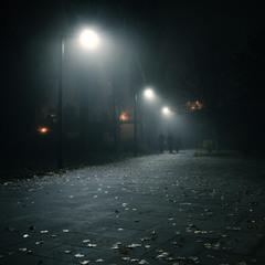 в туманном городе осень...