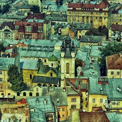 Lviv's roofs