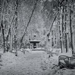 Киев.Мариинка.Снежная глазурь зимы.
