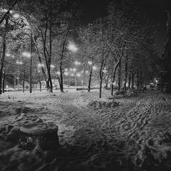 Київ нічний.Знайомими стежками.