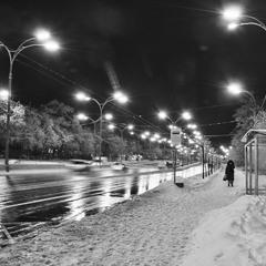 прогулка в ночь