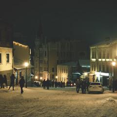 вечерний...снежный...Андр еевский...
