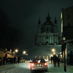 Киев.Вечер.Рождество.