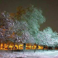 Зимневечерняя