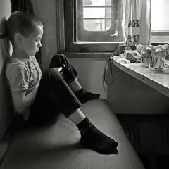 мальчик в поезде