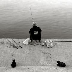 ожидание рыбы