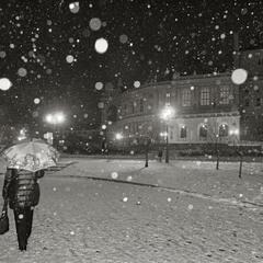 зимневечернее
