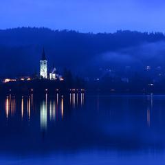 Озеро Блед. Словения