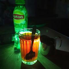В поезде чай
