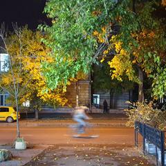Вечерняя улица