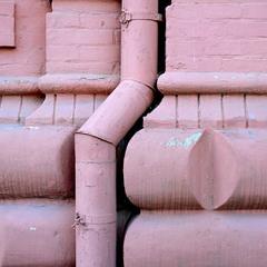 Фрагмент в розовых тонах
