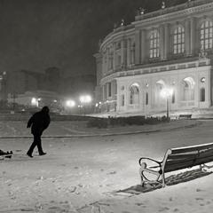 Зимний вечер в Одессе
