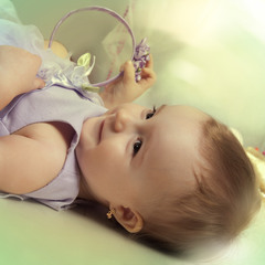 В глазах ребенка - целый мир......