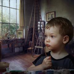 Внук художника