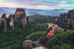 Blue Hour in Meteora.