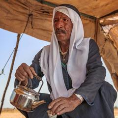 Муса - самый харизматичный бедуин.