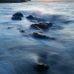 Утро синей воды