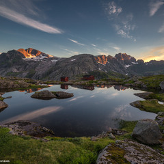 Норвежские горы.
