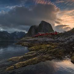 Morning at the Norwegian Sea.