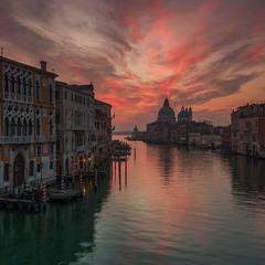 Утро в Венеции.