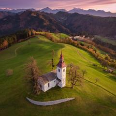 Over Slovenia.