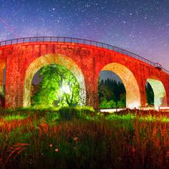 Старий міст у Ворохті