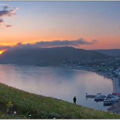 Закат в Орджоникидзе