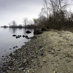 Одинокий берег...