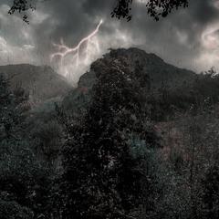 Гроза в горах