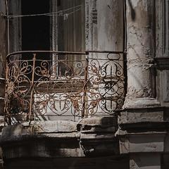Солнце на балконе