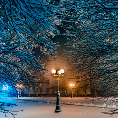 Зимний город Борисполь