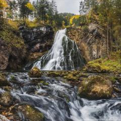 Австрия. Водопад Gollinger.