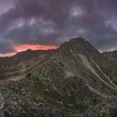Словакия. Высокие Татры. Под вершиной Предне-Солиско
