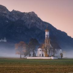 Германия. Бавария. Церковь St. Coloman (Schwangau)
