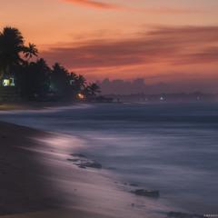Шри Ланка. Хиккадува. Ланкийский рассвет