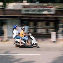 Шри Ланка. Хиккадува. Попутчица