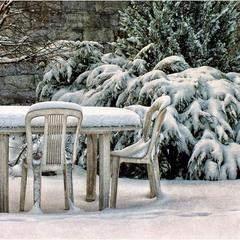 Зимний дворик