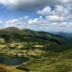 Карпатська панорамка...