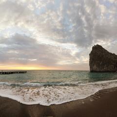 Утро у моря...