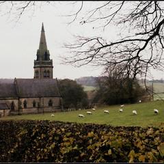 """Dunstall.  St Mary""""s Church."""