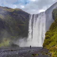 Скогафосс. Исландия.
