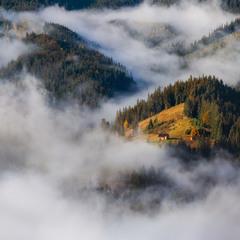 Проснувшись в облаках