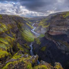 На краю каньона