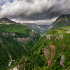 Грузинский пейзажик