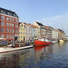по каналам Копенгагена